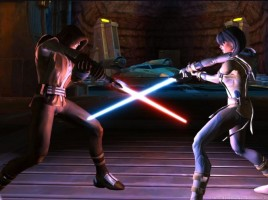 Sith fighting a Jedi screenshot