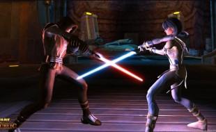 Sith fighting a Jedi screenshot