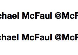 Michael McFaul