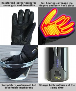 Volt Tatra Heated Gloves - features